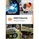 Tuotekuvasto ESKO Finland Oy